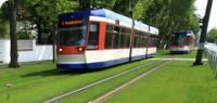 Nachhaltigkeit: Straßenbahn mit Rasengleis